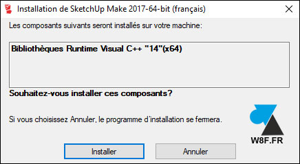 tutoriel SketchUp installer telecharger