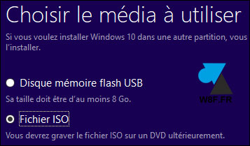 tutoriel télécharger installation Windows 10 Fall Creators Update 1709 gratuit