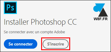 tutoriel telecharger installer Adobe Photoshop CC 2018