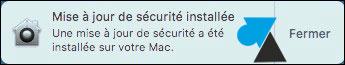 tutoriel Mac macOS installer mise à jour sécurité
