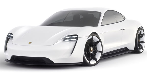 Porsche Mission E voiture electrique