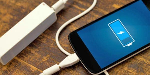 WF batterie smartphone