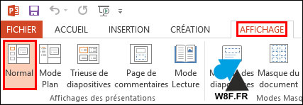 tutoriel PowerPoint changer format resolution diaporama