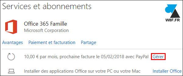 tutoriel Office 365 activer licence abonnement