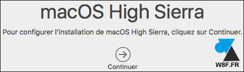 tutoriel telecharger installer macOS Mac High Sierra 10.13