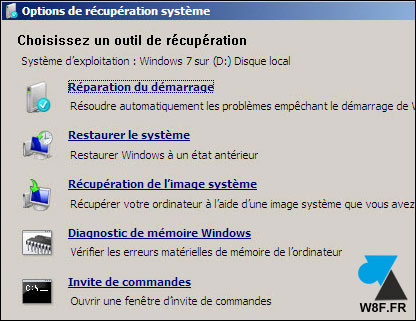 tutoriel Windows 7 reparer systeme