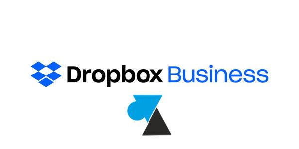 Dropbox Business : attribuer un compte à une autre personne