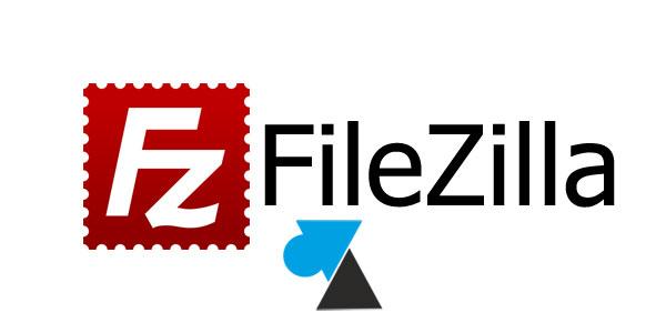 WF tutoriel FileZilla logo client serveur FTP SFTP FTPS