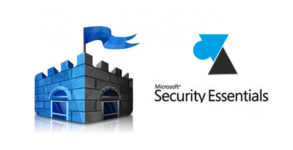 WF Microsoft Security Essentials logo antivirus