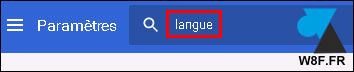 tutoriel Google Chrome changer langue