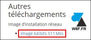 telecharger Fedora Server netinstall minimal