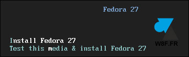 tutoriel telecharger installer Fedora 27 Server minimal netinstall