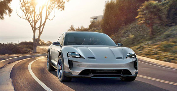photo Porsche Mission E Cross Turismo