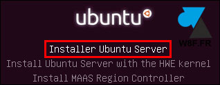 tutoriel installer Ubuntu Server 16 LTS