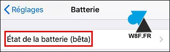 tutoriel iOS iPhone batterie charge