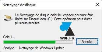 tutoriel menage disque dur windows update