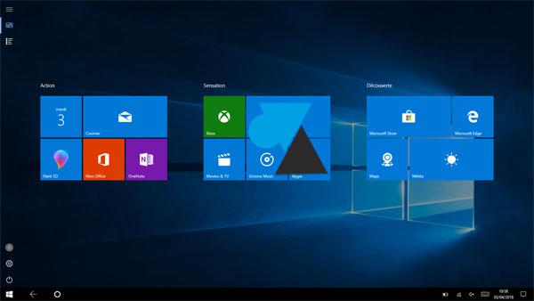 Windows 10  désactiver le mode Tablette