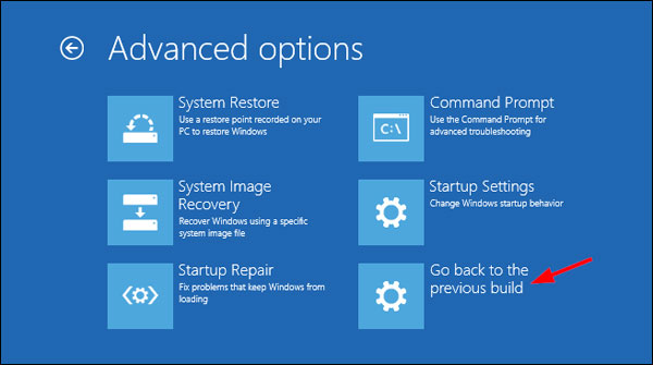 tutoriel Windows 10 revenir en arriere reset