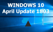 Télécharger et installer la mise à jour Windows 10 April Update (1803)
