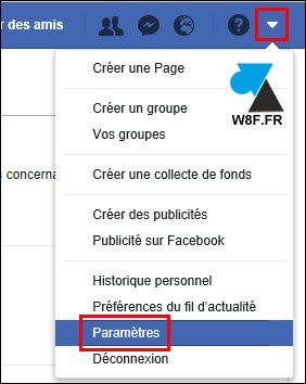 tutoriel notification Facebook mail desactiver