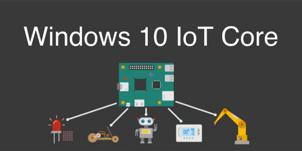 tutoriel Windows 10 IoT Core Raspberry Pi