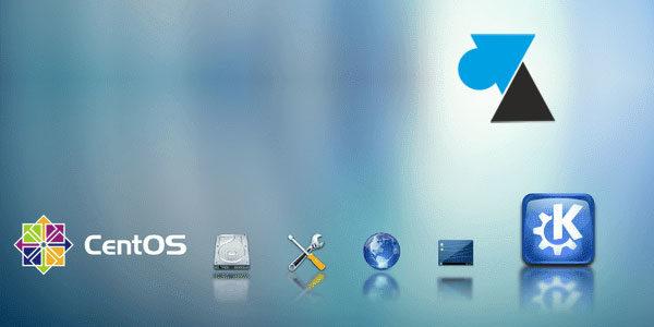 CentOS : installer l'environnement graphique KDE