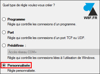tutoriel firewall Windows Server 2016 pare feu ws16 regle ping imcp