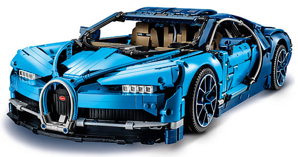 photo Bugatti Chiron Lego Technic