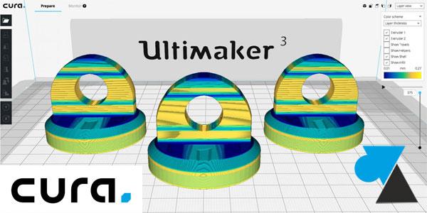 WF Cura Ultimaker 3D