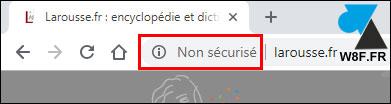 tutoriel Google Chrome sous domaine http https