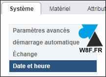 tutoriel VMware vSphere ESXi menu parametres date heure