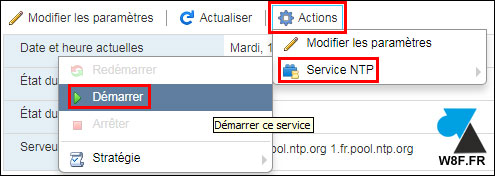 tutoriel VMware vSphere ESXi date heure serveur ntp
