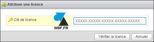 tutoriel VMware vSphere ESXi licence