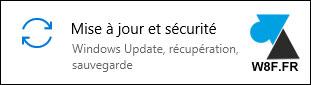 tutoriel Windows 10 Mise à jour et sécurité Paramètres