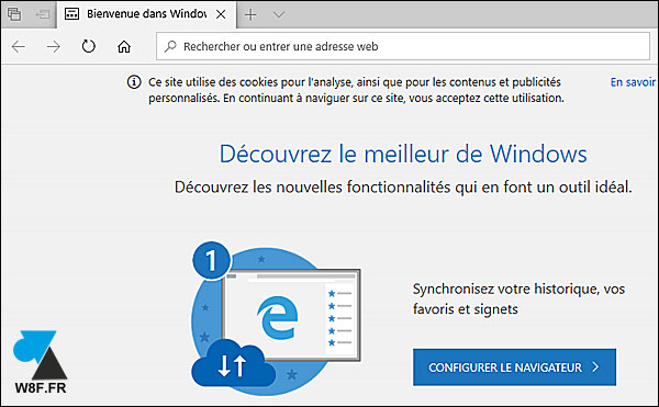 tutoriel mise à jour Windows 10 Update Edge