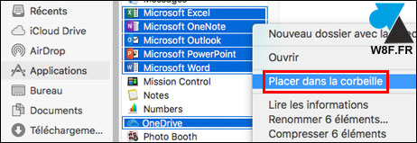 tutoriel désinstaller Office 2019 Mac Word Excel PowerPoint
