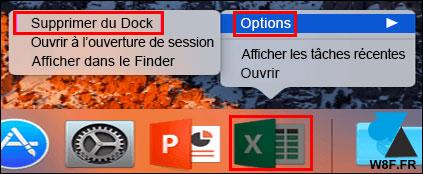 tutoriel mac macos supprimer icone dock