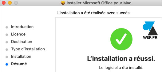 tutoriel installer Office 2019 Mac Word Excel PowerPoint