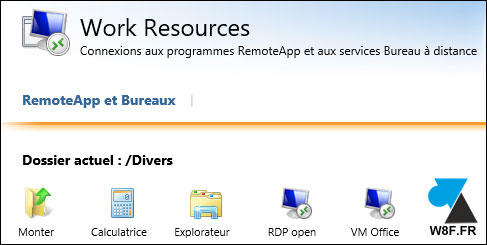 tutoriel RDS RemoteApp RDWeb