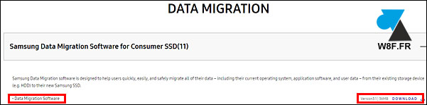 tuto logiciel Samsung SSD Data Migration software