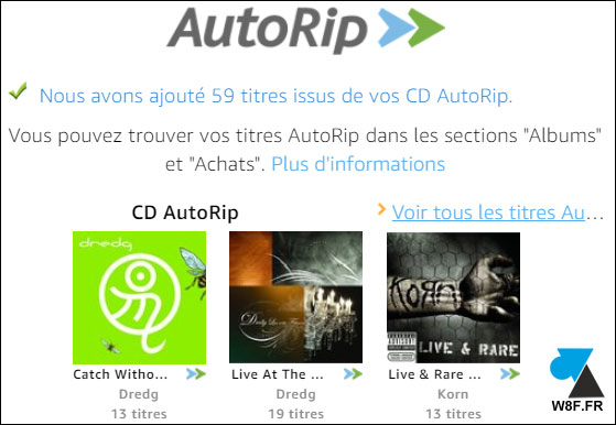 Amazon Music cd autorip