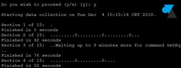 SAN Dell log diag diagnostic SSH