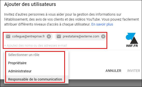 tutoriel chaine YouTube gerer administrateur utilisateur
