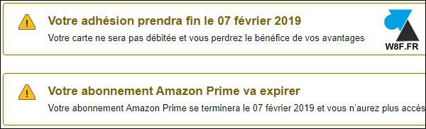 tuto supprimer forfait payant Amazon Prime