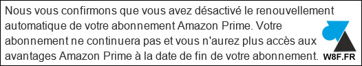 tutoriel resilier abonnement Amazon Prime premium