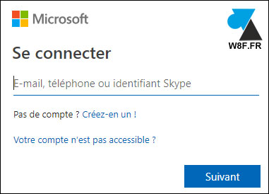 tutoriel changer mot de passe Office 365