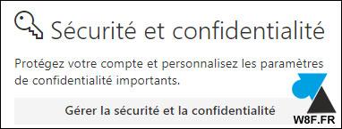 tutoriel changer mot de passe compte Microsoft Office