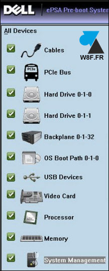 tutoriel Dell diagnostic tool