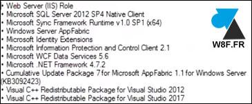 tutoriel SharePoint installer prerequis