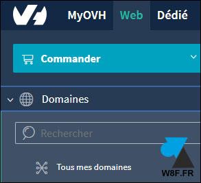 tutoriel OVH resilier nom de domaine